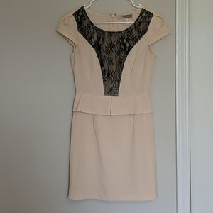 Forever 21 Structured Lace Detail Dress